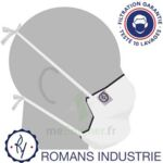 MASQUE ALTERNATIF - ROMANS INDUSTRIE - BLANC à CHAMPAGNOLE