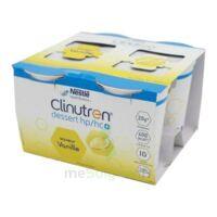 Clinutren Dessert 2.0 Kcal Nutriment Vanille 4cups/200g à CHAMPAGNOLE
