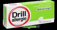 Drill 10 Mg Comprimés à Sucer Allergie Cétirizine Plq/7 à CHAMPAGNOLE