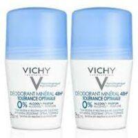 Vichy DÉodorant MinÉral TolÉrance Optimale 2roll-on/50ml à CHAMPAGNOLE