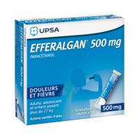 Efferalgan 500 Mg Glé En Sachet Sach/16 à CHAMPAGNOLE