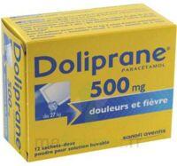 Doliprane 500 Mg Poudre Pour Solution Buvable En Sachet-dose B/12 à CHAMPAGNOLE