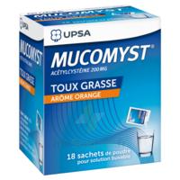 Mucomyst 200 Mg Poudre Pour Solution Buvable En Sachet B/18 à CHAMPAGNOLE