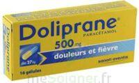 DOLIPRANE 500 mg Gélules B/16 à CHAMPAGNOLE