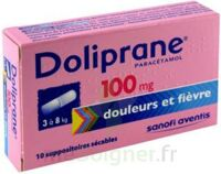 Doliprane 100 Mg Suppositoires Sécables 2plq/5 (10) à CHAMPAGNOLE