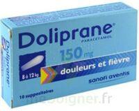 Doliprane 150 Mg Suppositoires 2plq/5 (10) à CHAMPAGNOLE