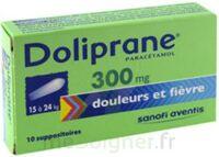 Doliprane 300 Mg Suppositoires 2plq/5 (10) à CHAMPAGNOLE