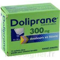 Doliprane 300 Mg Poudre Pour Solution Buvable En Sachet-dose B/12 à CHAMPAGNOLE