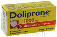 DOLIPRANE 1000 mg Comprimés effervescents sécables T/8 à CHAMPAGNOLE