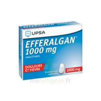 Efferalgan 1000 Mg Comprimés Pelliculés Plq/8 à CHAMPAGNOLE