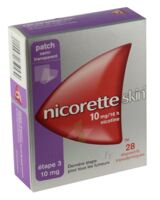 Nicoretteskin 10 mg/16 h Dispositif transdermique B/28 à CHAMPAGNOLE