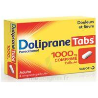 DOLIPRANETABS 1000 mg Comprimés pelliculés Plq/8 à CHAMPAGNOLE