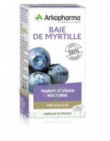 Arkogélules Myrtille Baies Gélules Fl/45 à CHAMPAGNOLE