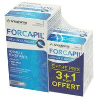 Forcapil Gélules croissance vitalité cheveux ongles B/180+60 à CHAMPAGNOLE