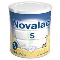 NOVALAC S 1 Lait en poudre satiétant 1er âge B/800g à CHAMPAGNOLE