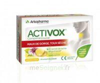 Activox Comprimés à Sucer Citron B/24 à CHAMPAGNOLE