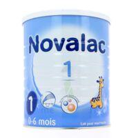 NOVALAC 1 Lait en poudre 1er âge B /800g à CHAMPAGNOLE