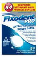 Fixodent Pro Comprimés Nettoyant Fraîcheur Longue Durée Pour Prothèse Dentaire B/54 à CHAMPAGNOLE