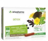 Arkofluide Bio Ultraextract Solution Buvable Détox 20 Ampoules/10ml à CHAMPAGNOLE
