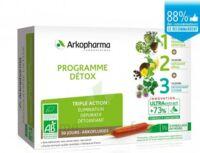 Arkofluide Bio Ultraextract Coffret programme détox 3x10 Ampoules/10ml à CHAMPAGNOLE