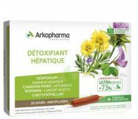 Arkofluide Bio Ultraextract Solution Buvable Détoxifiant Hépatique 20 Ampoules/10ml à CHAMPAGNOLE