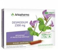 Arkofluide Bio Ultraextract Desmodium Solution Buvable 20 Ampoules/10ml à CHAMPAGNOLE