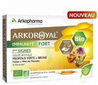Arkoroyal Immunité Fort Solution Buvable 20 Ampoules/10ml à CHAMPAGNOLE