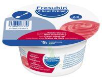 Fresubin 2kcal Crème Sans Lactose Nutriment Fraise Des Bois 4 Pots/200g à CHAMPAGNOLE