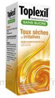 Toplexil 0,33 Mg/ml Sans Sucre Solution Buvable 150ml à CHAMPAGNOLE