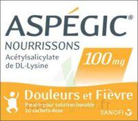 ASPEGIC NOURRISSONS 100 mg, poudre pour solution buvable en sachet-dose à CHAMPAGNOLE