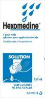 Hexomedine 1 Pour Mille S Appl Loc Fl/250ml à CHAMPAGNOLE