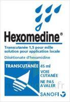 HEXOMEDINE TRANSCUTANEE 1,5 POUR MILLE, solution pour application locale à CHAMPAGNOLE