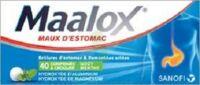 Maalox Hydroxyde D'aluminium/hydroxyde De Magnesium 400 Mg/400 Mg Cpr à Croquer Maux D'estomac Plq/40 à CHAMPAGNOLE