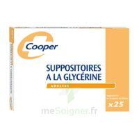 Suppositoires A La Glycerine Cooper Suppos En Récipient Multidose Adulte Sach/25 à CHAMPAGNOLE