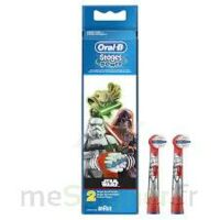 Oral-b Stages Power Star Wars 2 Brossettes à CHAMPAGNOLE