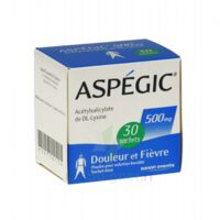 ASPEGIC 500 mg, poudre pour solution buvable en sachet-dose 30 à CHAMPAGNOLE