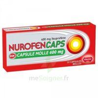 Nurofencaps 400 Mg Caps Molle Plq/10 à CHAMPAGNOLE