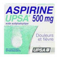 ASPIRINE UPSA 500 mg, comprimé effervescent à CHAMPAGNOLE