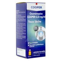 OXOMEMAZINE H3 SANTE 0,33 mg/ml SANS SUCRE, solution buvable édulcorée à l'acésulfame potassique à CHAMPAGNOLE