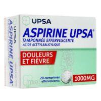 ASPIRINE UPSA TAMPONNEE EFFERVESCENTE 1000 mg, comprimé effervescent à CHAMPAGNOLE