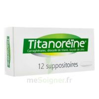TITANOREINE Suppositoires B/12 à CHAMPAGNOLE