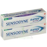 Sensodyne Rapide Pâte Dentifrice Dents Sensibles 2*75ml à CHAMPAGNOLE