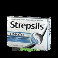 Strepsils Lidocaïne Pastilles Plq/24 à CHAMPAGNOLE