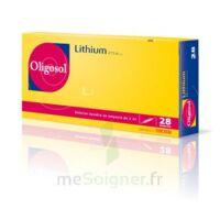Oligosol Lithium Solution Buvable En Ampoule Ou En Récipient Unidose 28amp/2ml à CHAMPAGNOLE