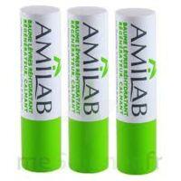 Amilab Baume labial réhydratant et calmant lot de 3 à CHAMPAGNOLE