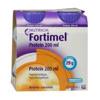 Fortimel Protein Nutriment caramel 4 Bouteilles/200ml à CHAMPAGNOLE