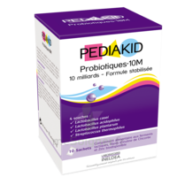 Pédiakid Probiotiques 10m Poudre 10 Sachets à CHAMPAGNOLE