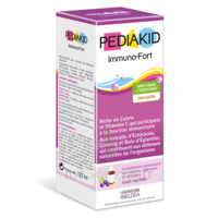 Pédiakid Immuno-fort Sirop Myrtille 125ml à CHAMPAGNOLE