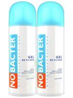 Nobacter Gel de rasage peau sensible 2*150ml à CHAMPAGNOLE