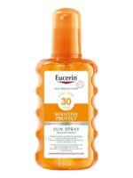 Eucerin Sun Sensitive Protect Spf30 Spray Transparent Corps 200ml à CHAMPAGNOLE
